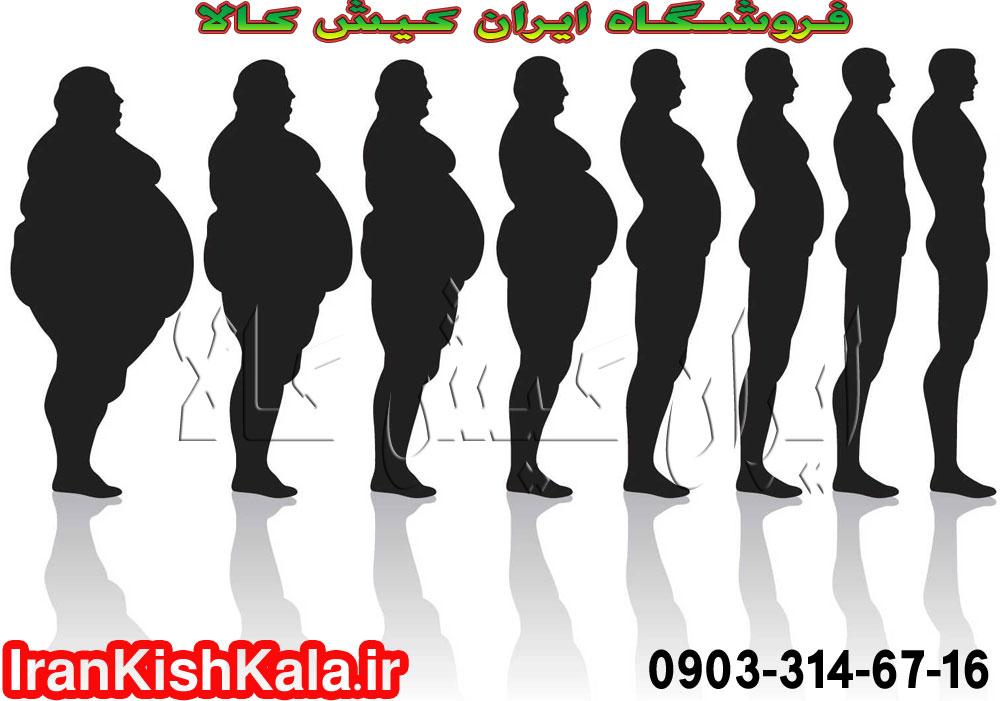 لاغری سریع بدن